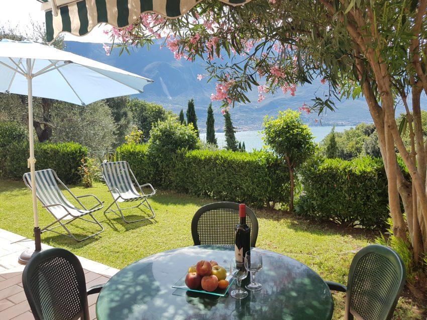 Terrasse mit Sitzplatz Casa Serena EG