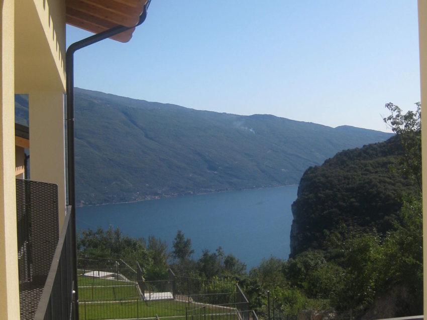 Seeblick von der Terrasse aus