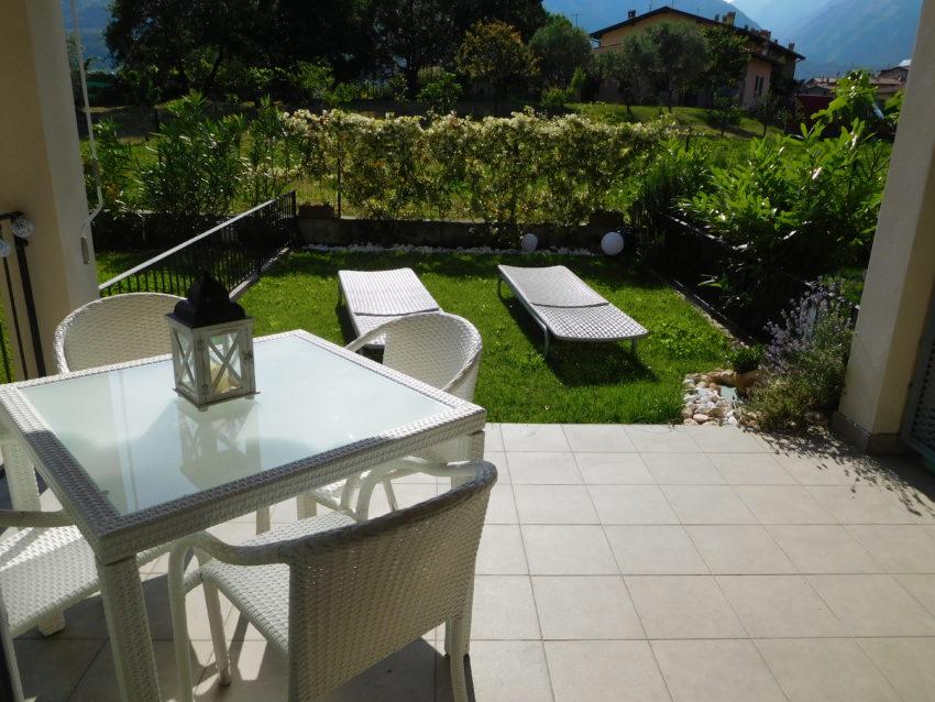 Terrazzo e giardino recintato - Casa Nr.3