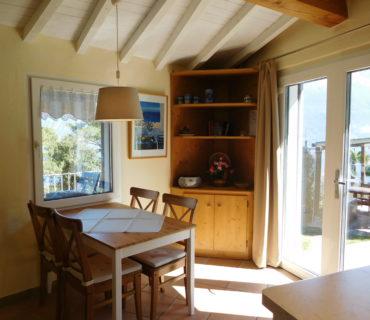 Wohnküche mit TV-Sat