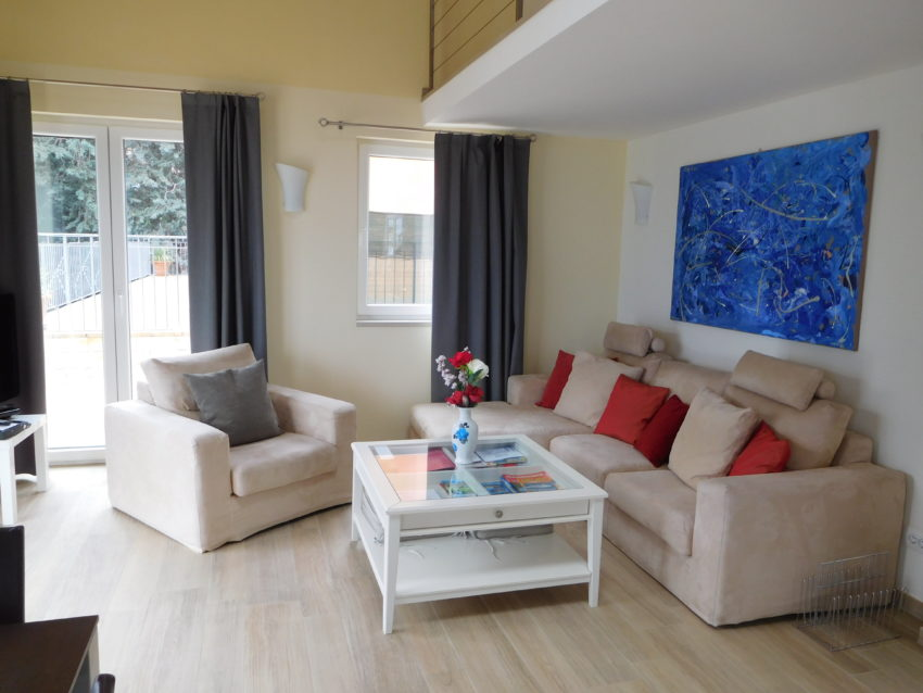 Sitzplatz mit TV-Sat Casa Maddalena