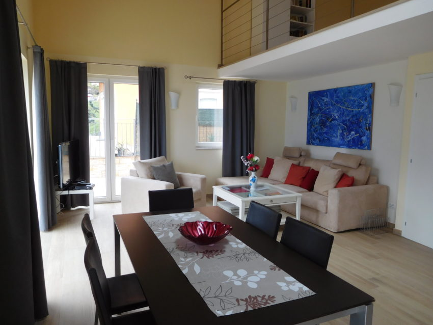 Wohnraum des Casa Maddalena