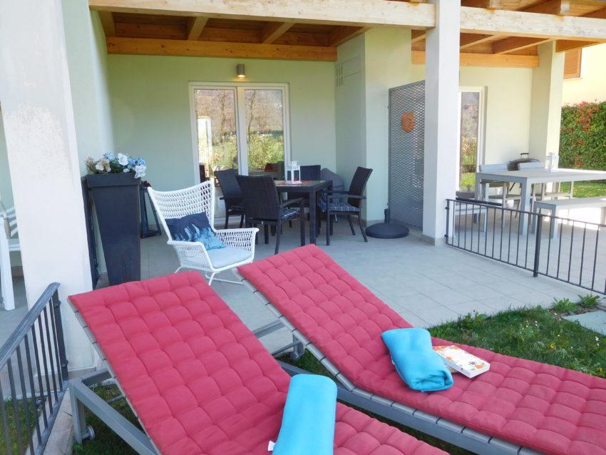 Giardino e terrazzo Casa Nr. 2