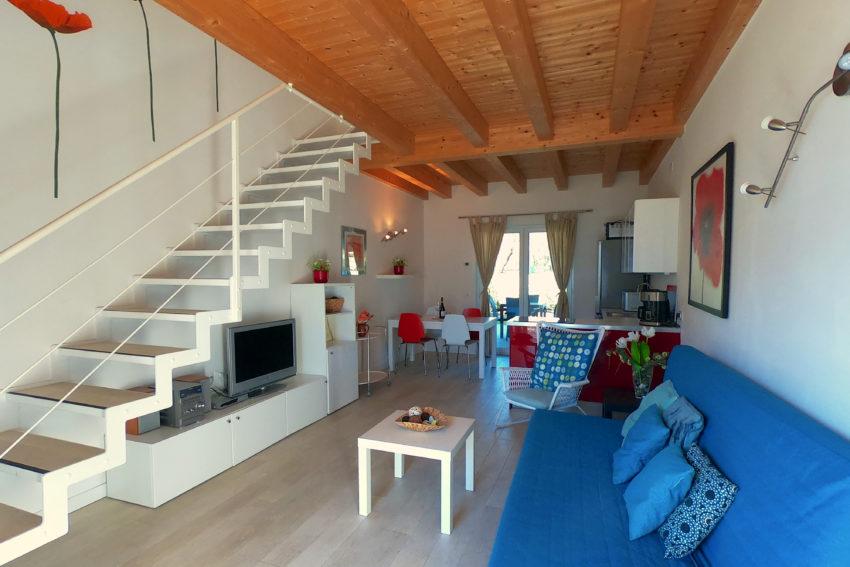 Zona giorno - Casa Nr. 2