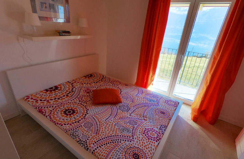 Schlafzimmer mit Seeblick - Haus Nr. 2