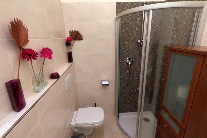 Bagno con doccia - Casa Nr.2-1
