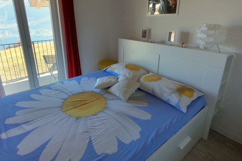 Schlafzimmer See-Seite Haus Nr.3-1