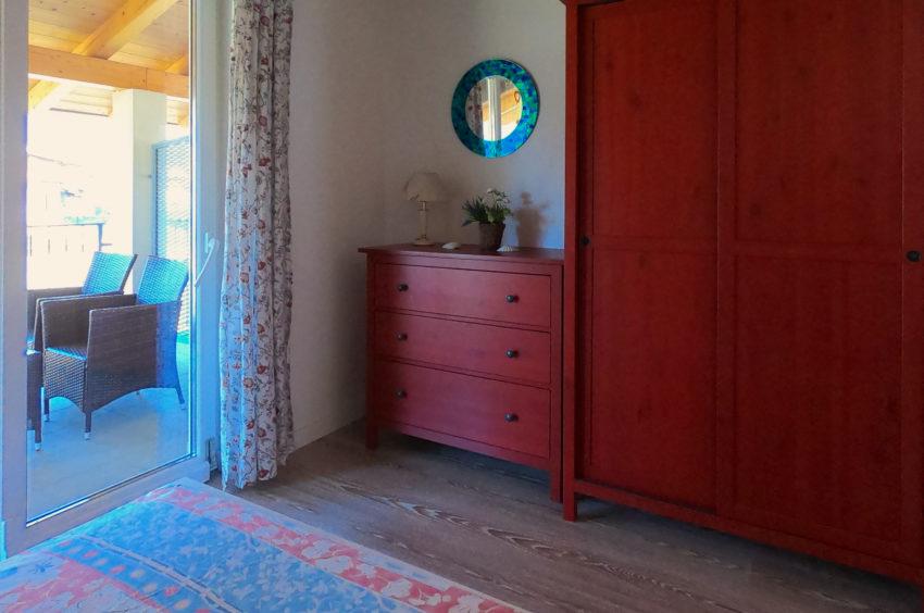 Schlafzimmer zur Bergseite - Haus Nr. 3