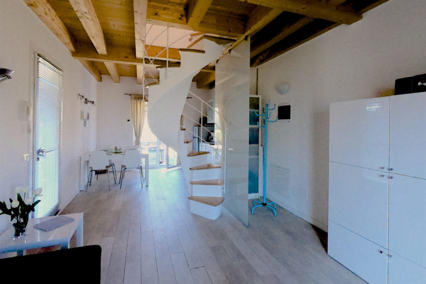 Zona giorno - Casa Nr.1