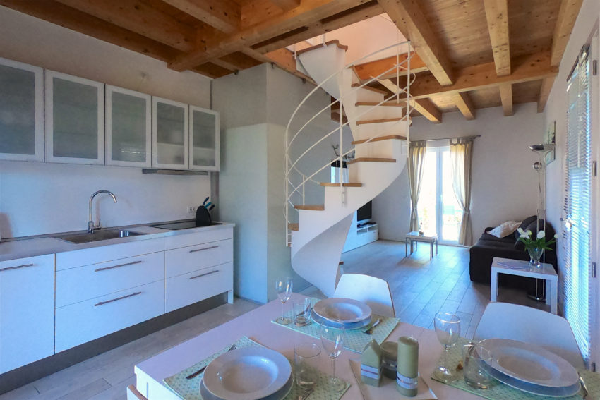 Zona cucina - Casa Nr.1