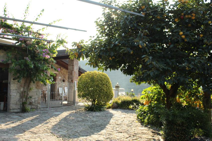 Zona accesso Casa Birti