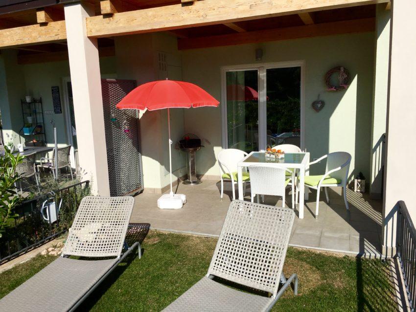 Giardino e terrazzo Casa Nr.3
