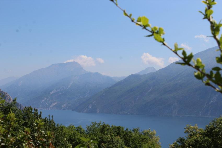 Vista lago Casa Renate