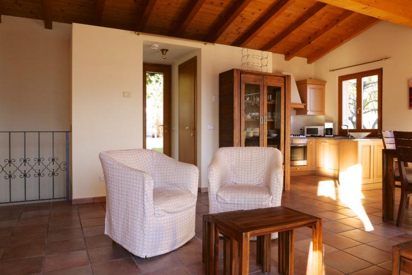 Sitzplatz im Wohnraum Casa Bella