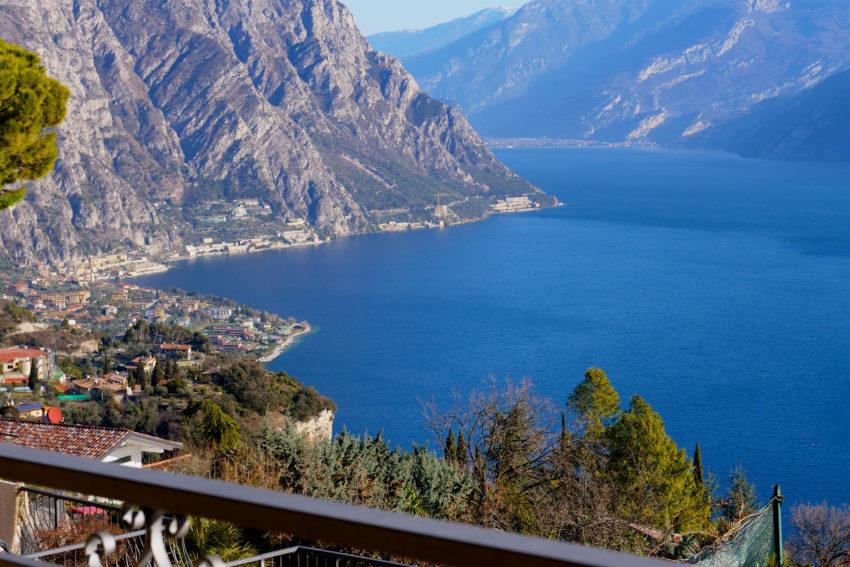 Vista lago dal terrazzo - Casa Bella