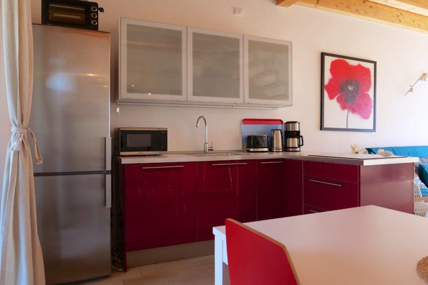 Cucina con lavastoglie - Casa Nr.2