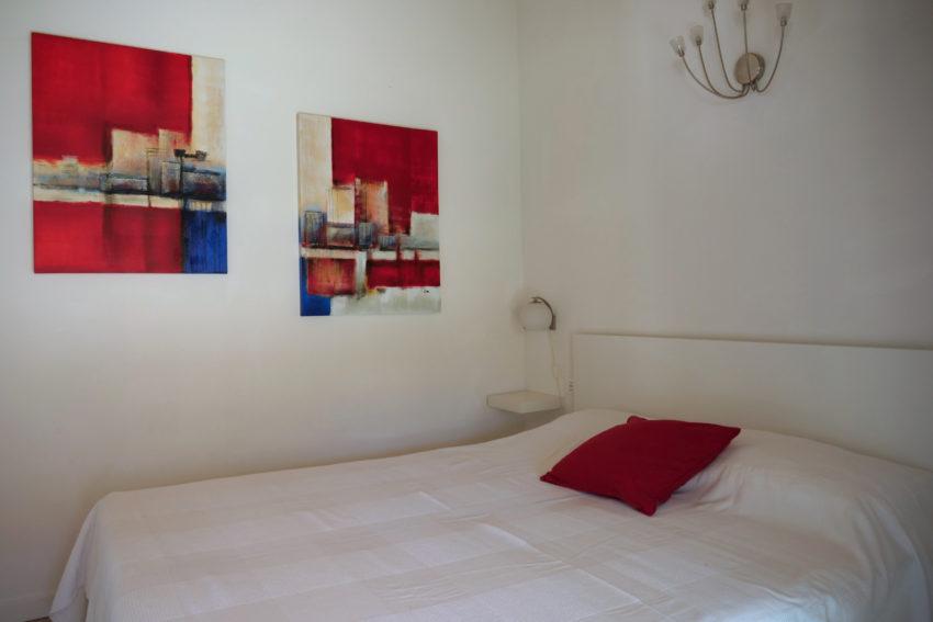Camera matrimoniale vista monte - Casa Nr.1