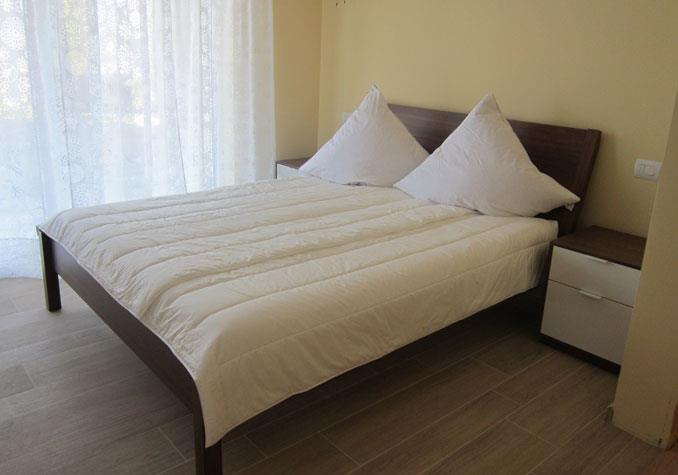 Schlafzimmer 1 im EG des Casa Maddalena