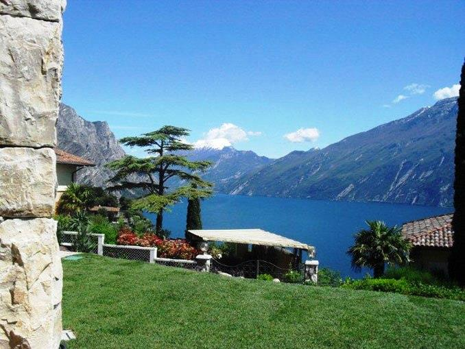 Garten mit Seeblick Casa Maddalena