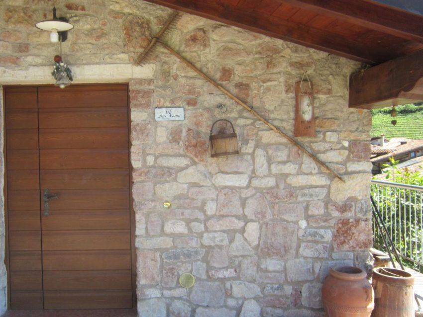 Eingangstür - Casa Birti