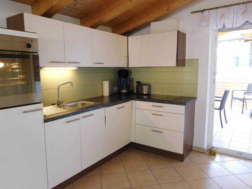 Top ausgestattete Küche Fewo Belvedere