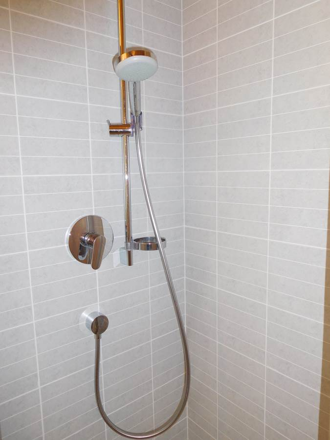 Dusche der Fewo Belvedere