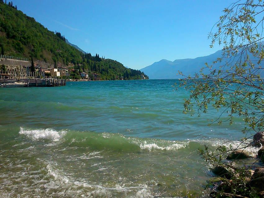 Wellen am Gardasee - Toscolano-Maderno, Westufer, Gardasee